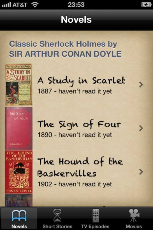 Sherlock Novels