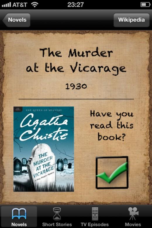Novels Vicarage