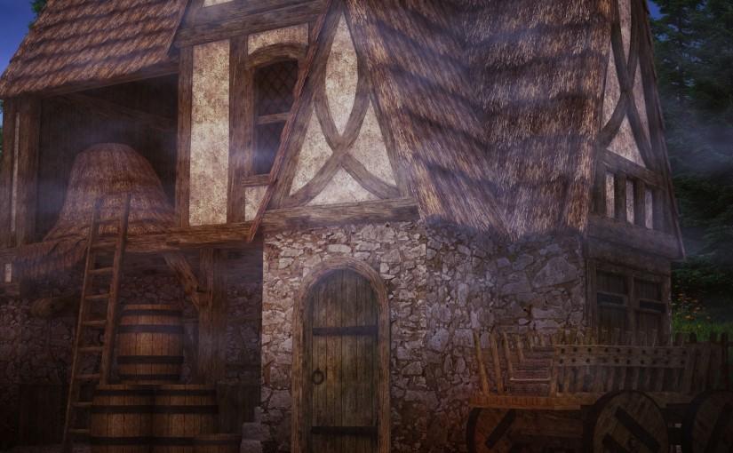 Poem: Vagabond's House