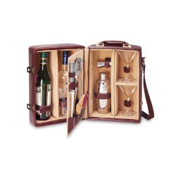 Manhattan Picnic Insulated Two Bottle Cocktail Kit