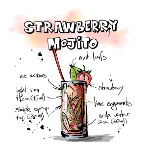 cocktail-strawberry-mojito