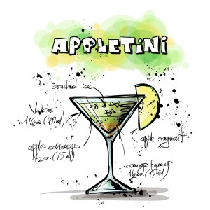 cocktails-appletini