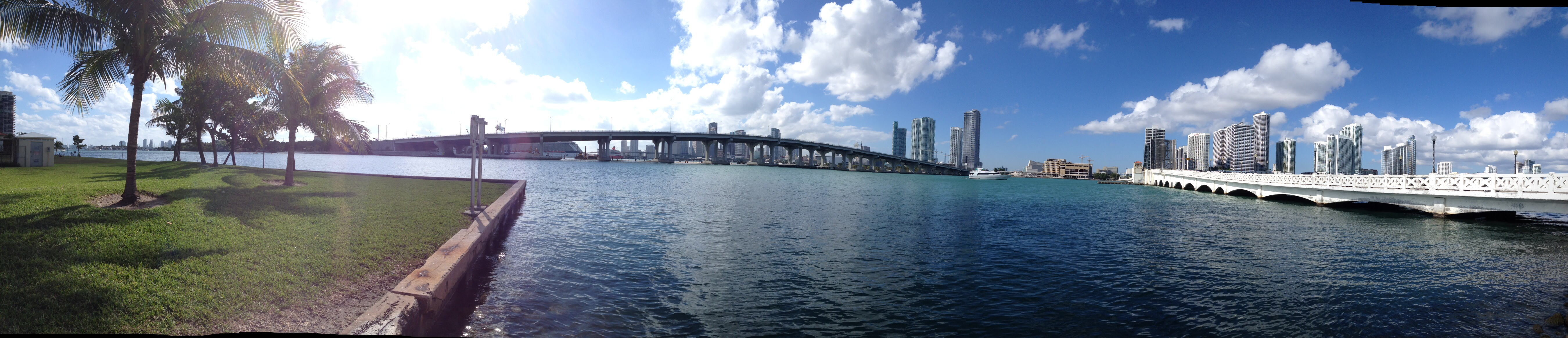 Venetian Causeway and Downtown