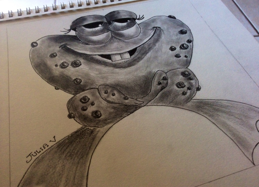 The Final Funny Frog Drawing