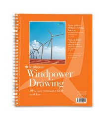 Windpower Drawing Sketchbook