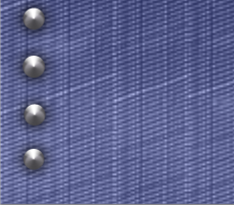 Now you have added the effects the flat grey circles now resemble a more realistic rivet that we can add to our designs.
