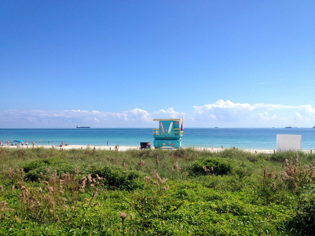 Lifeguard Hut Miami Beach