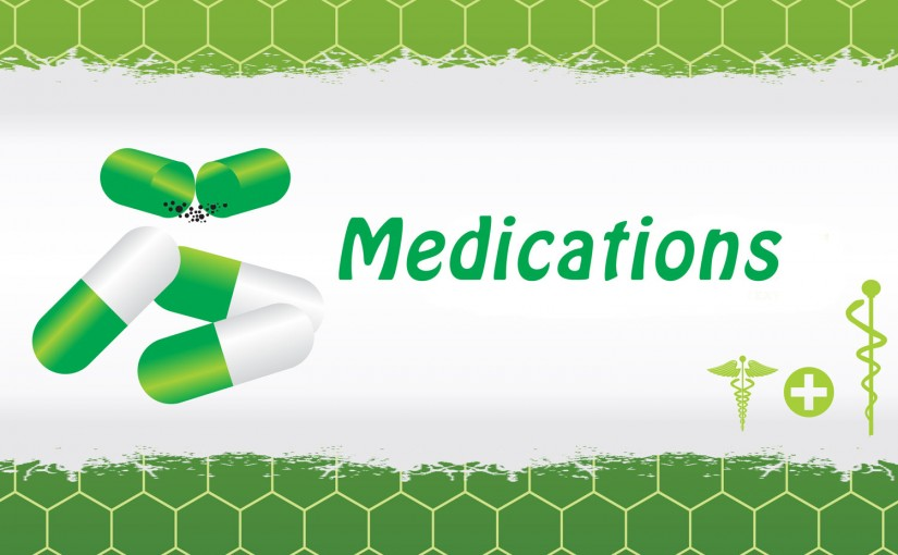 Travel Size Medications and Pain Relievers