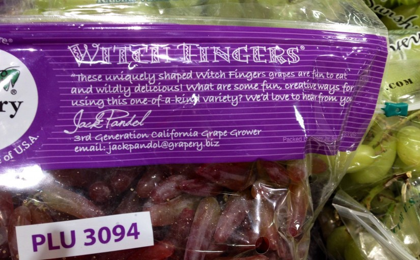 Witch Fingers Grapes