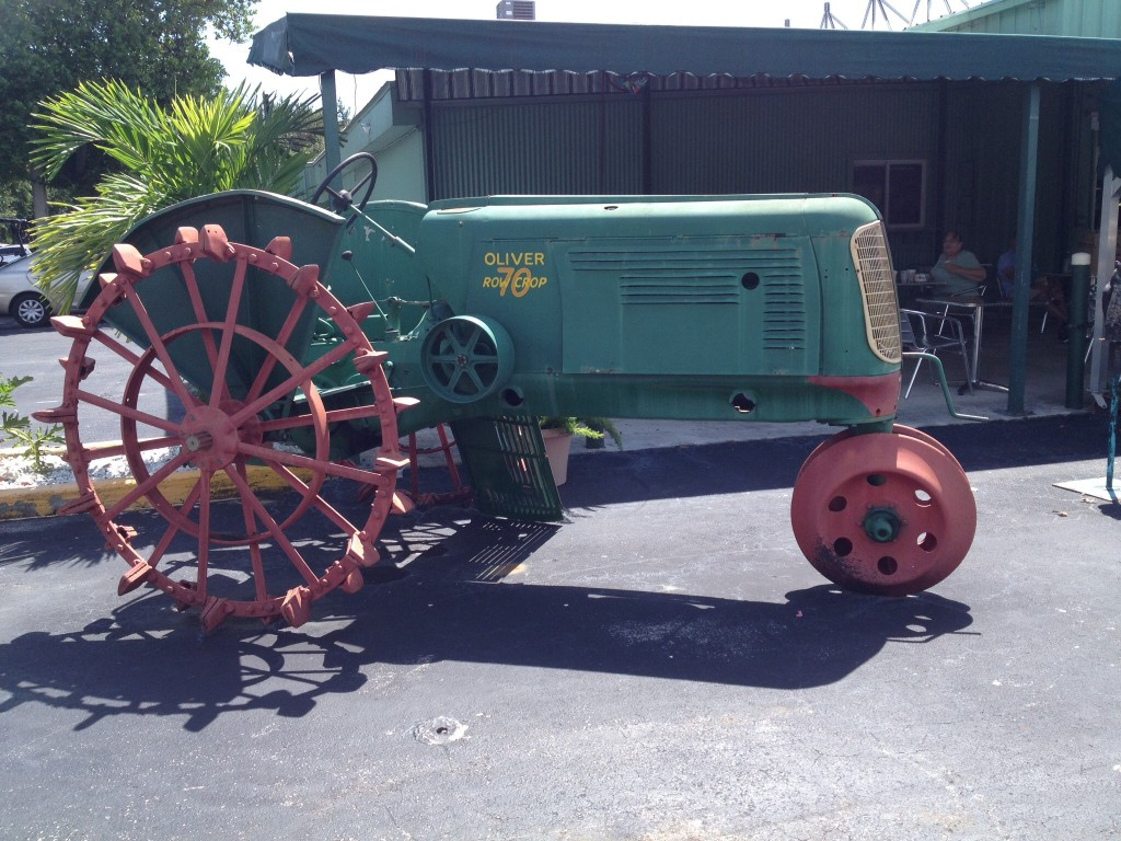 An Oliver Tractor