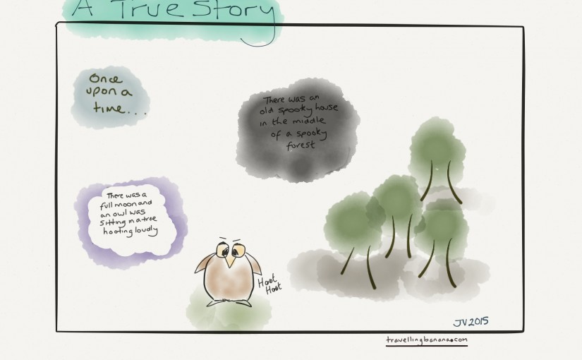 Sketch Sunday: A True Story