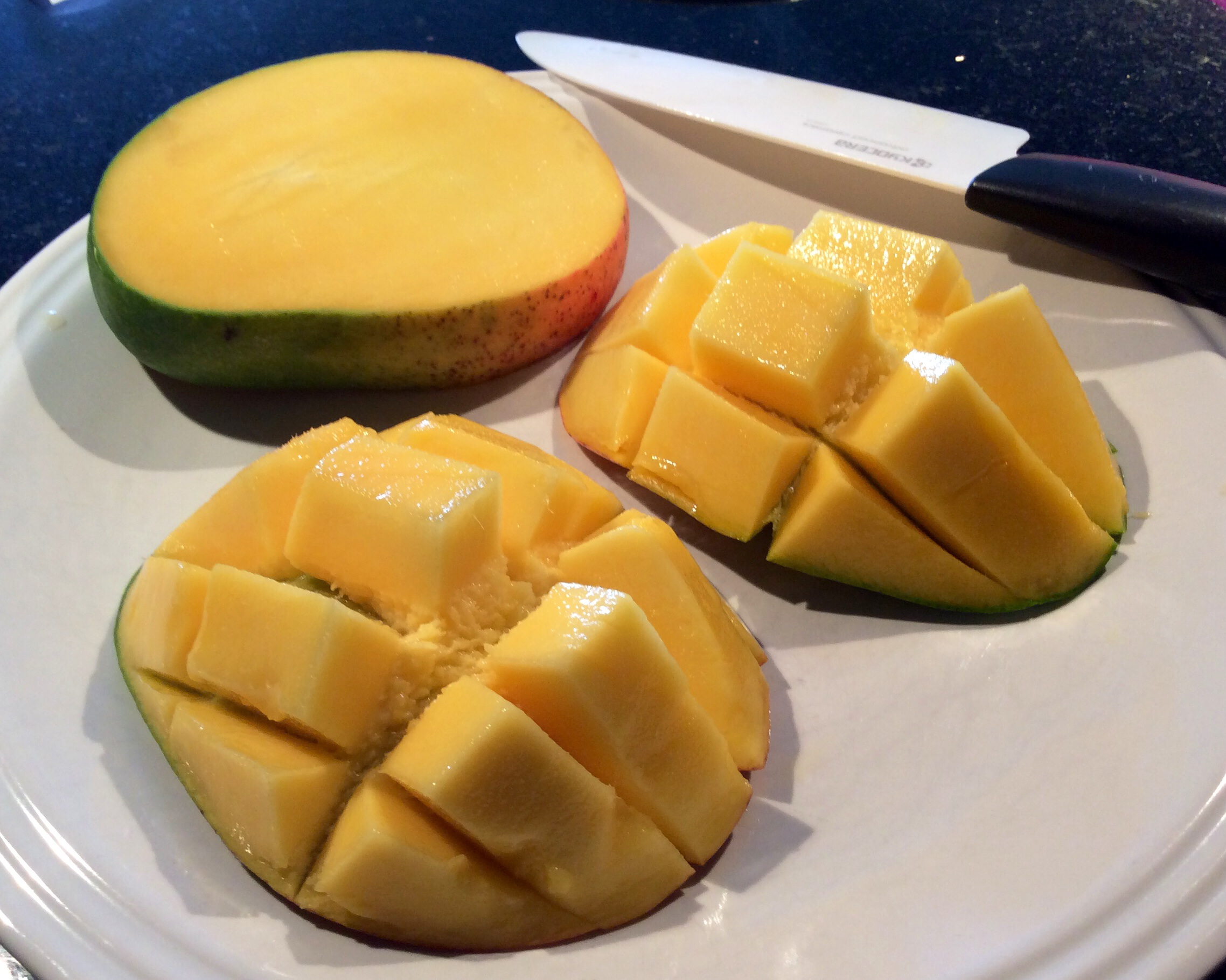 Follow my steps to easily prepare your mango