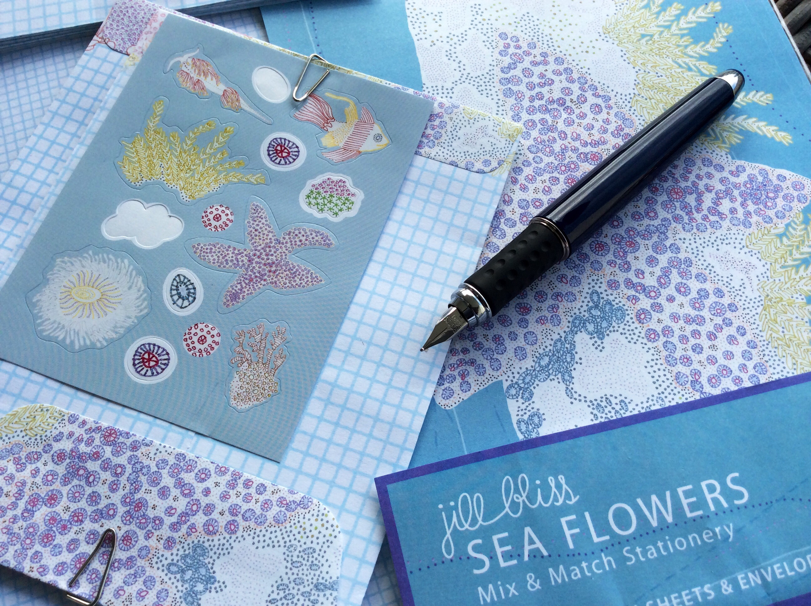 Mix and Match Stationery by Jill Bliss